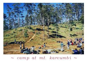 camp at mt kareumbi by sampratot