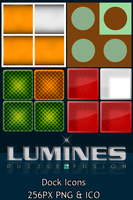 Lumines Dock Icons by lapinlunaire
