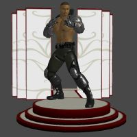 MK9: Jackson 'Jax' Briggs (Primary, Remixed) by KoDraCan