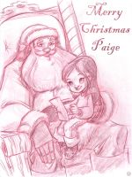 Merry Christmas Paige by DanSchoening
