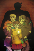 S-D: Scooby Gang by ScarletMoonbeam