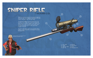 Team Fortress 2 Sniper Rifle by Titch-IX