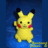 Pikachu Amigurumi by ManifestedDreams