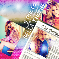 PHOTO Pack (16) Bella Thorne by IremAkbas