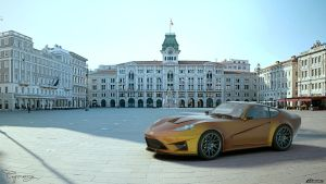 Ford GT-V concept V2 5 by cipriany