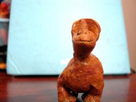 Clay Dinosaur 2 - front by ghostdragoness16