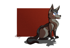 Mightyena!Hyde by beatrizearthbender