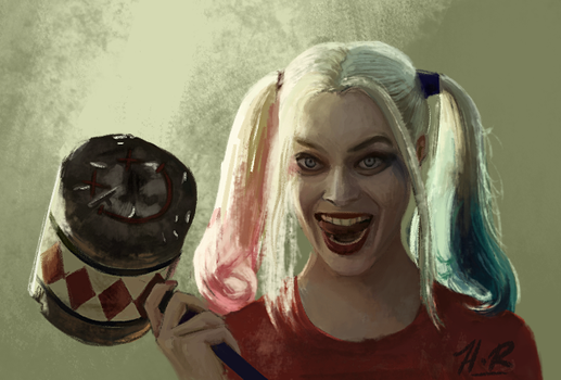 Harley Quinn by wickedevilbunny