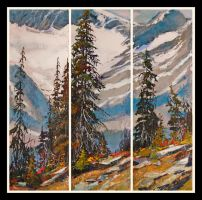 Purcell Triptych by artistwilder
