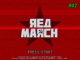 Red March Cranberry Edition VHS Logotype by Diamond00744