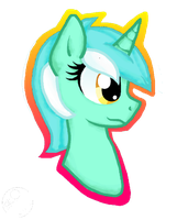 Lyra Head View by Honey-PawStep