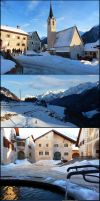 Swiss Winter by Cadaska