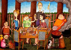 Grill Party by KociGrzbiet