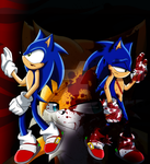 Suffering - Sonic The Lost Memories by SilverAlchemist09
