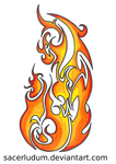 Tribal Fire Color by sacerludum