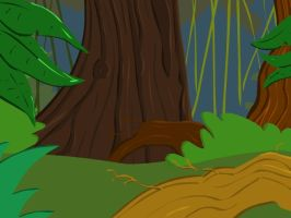 Forest Background by CheifJay