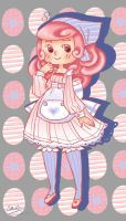 Gijinka fun -Blissey- by Moegiiro