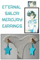Eternal Sailor Mercury Earring by Topaz-Jewelry