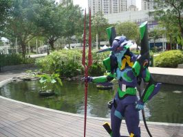 EVA-01 at Central Park Mall 10 by V-male