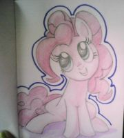 Pinkie in color by XSlappyTheDummyX