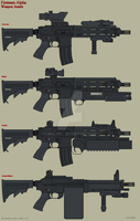 Fireteam Alpha Weapon Assets by Wolff60