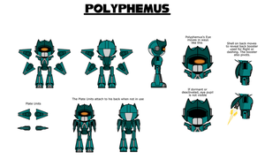 Polyphemus The Gizoid - FC Reference - Main by Hexidextrous