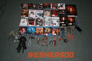 My Resident Evil Collection by Wesker500