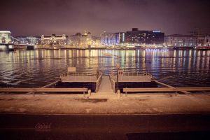 empty dock by avirid