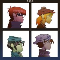 A.K.A. - Demon Days by ComickerGirl