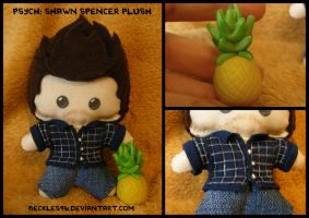 Psych: Shawn Spencer Plush Commission by StitchedAlchemy