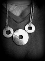 Washer Hardware Store Necklace by Ryannethelion