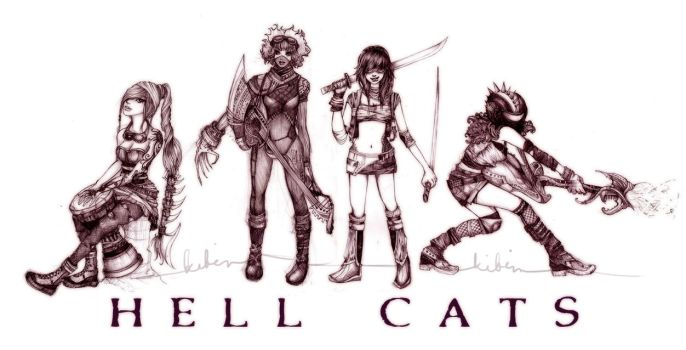 Hell Cats by aegia