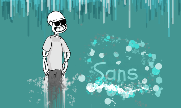 15 Year Old Sans by DelinquentSenpai