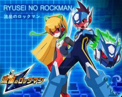 Ryusei No Rockman by RisuHunter