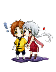 Commission :Souken and Ginko: by Moonlilith91