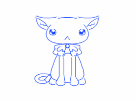 aw look a cat type thing by Aninsey