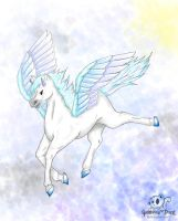 Flying High - Art Trade by Guenhwyvar-Drizzt