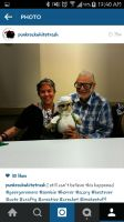 myself with the one and only George A. Romero   by Punkrockwhitetrash