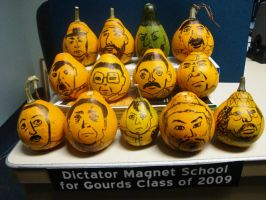 Dictator Gourds by Loralthea