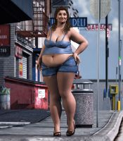 BBW _ In The City by Rendermojo
