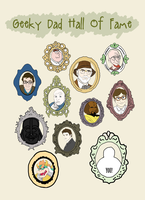 Geeky Dad Hall of Fame Card by sweet-geek