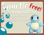Squirtle - Free Sewing Pattern! by Rachaudo