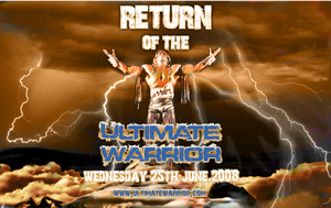 ULTIMATE WARRIOR EPIC RETURN by tanman1