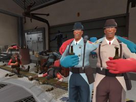 Team Fortress 2: Oktoberfest by JLTaleon