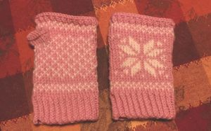 Mum's Mittens by under-the-fence