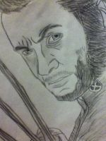 X men Wolverine drawing by jt0002