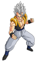 Baby Gogeta by RobertoVile