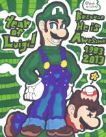 The Year Of Luigi by ShyDeathKitty