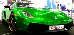 Green Lamborghini Gallardo by toyonda
