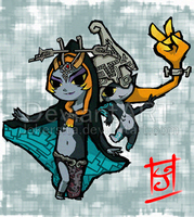 WW Midna by Jokersita